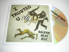 Balkan Beat Box - I Trusted U - 2 Track