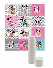 12 BABY MINNIE MOUSE LIP BALM FOR PARTY FAVORS GIFTS