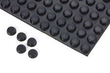 10 Gummifüße schwarz  ca  4 mm x  ca 12 mm  selbstklebend 8004