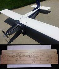 """75"""" wingspan Pilatus PC6 Porter R/c Plane short kit/semi kit and plans"""