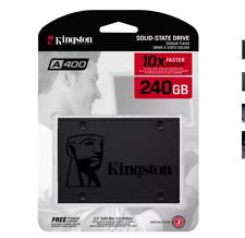 """Kingston 240GB A400 SSD 2.5"""" SATA III SSD - 500MB/s"""