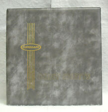 Supersafe : Deluxe Mint Sheet Album - Holds 100 - Gray Cover #Ss-Ma1Gray