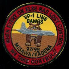 USN VP-1 1997 1998 Misawa Kadena WESTPAC Patch J-1