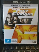 The Fast and the Furious 4K Ultra HD Blu-ray UHD NEW & SEALED