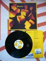 Genesis Self Titled 1983 Vinyl UK Charisma 1st Press A1/B2 LP Phil Collins EXC++