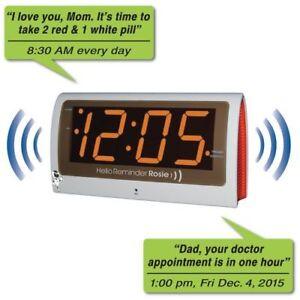 Reminder Rosie -  Voice Activated Reminder Alarm Clock TTC-ROSIE-AU