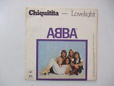 ABBA – Chiquitita - Copertina Disco Vinile 45 Giri (NO DISCO)