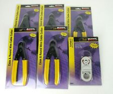 Lot Platinum tools 1 x cyclops 2 stripper + 5 x coax&round wire cable cutter