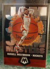 Panini Russell Westbrook mosaico 2019-20 baloncesto cohetes Jam Masters Insertar