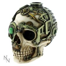 Anne Stokes Steampunk Skull Candle Holder 16.5x13x12.5cm Ornament B1479d5