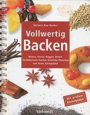 Vollwertig Backen von Barbara Rias-Bucher Kochbuch mit Küchenplakat Backbuch
