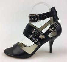 55454414d3ccd Michael Kors ST14E Ankle Strap Buckle Heel Sandals Size 7 M