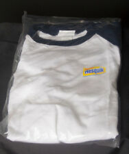 a8fc12af453 NEW Nestle Nesquik Chocolate Milke 3 4 Sleeve Collectible T Shirt