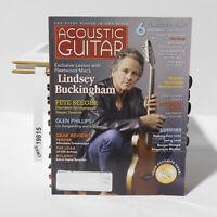 Lindsey Buckingham Acoustic Guitar Magazine February 2007 Pete Seeger Lessons
