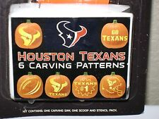 HOUSTON TEXANS NFL SPORTS PUMPKIN CARVING KIT NIP