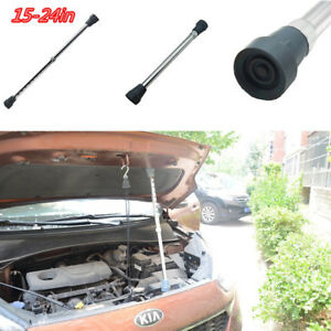 1x Aluminum Car Door Engine Hood Cover Prop Rod Arm Fixed Rope Repair Strut Tool