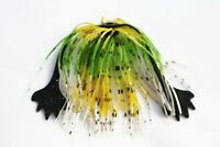 5 pcs/lot Silicone Skirts Frog Claws SpinnerBait Buzzbait Squid Rubber Jig Lures