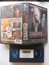 Chained Heat de Lloyd Simandl avec Brigitte Nielsen, VHS, Drame, RARE!!!!