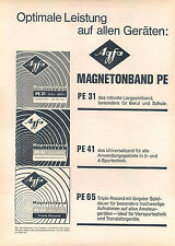 Agfa-Magnetonband-1963-Reklame-Werbung-genuineAdvertising-nl-Versandhandel