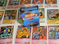 Wildstorms: The Expandable Super-Hero Collectible Card Game Collection Rare CCG