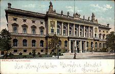 Berlin Abgeordneten-Haus 1905 Postkarte nach Schwetzingen Baden Ankunftsstempel
