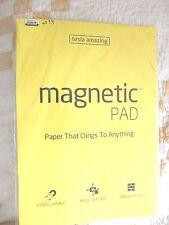 Tesla Amazing Magnetic Pads, Yellow, 50 Pads/Pk, 297mmx420mm