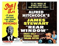 Grace Kelly USA NEW James Stewart G Rear Window Movie POSTER 11 x 17