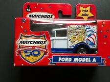Matchbox 50 years 1952-2002 Ford Model A