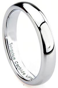 2-10mm Tungsten Carbide Mens Womens Wedding Engagement Bridal Band Ring sz 3-15