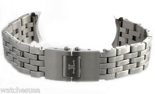 21mm Jaeger LeCoultre Master Compressor DualMatic Steel Watch Bracelet Band