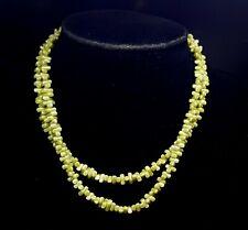 Vintage Irish Connemara stone beads necklace.