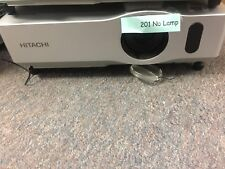 Hitachi CP-X201 Projector No Lamp