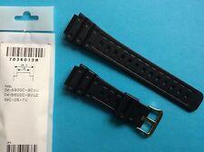 Casio Uhrband schwarz DW-5600 und SWC-05