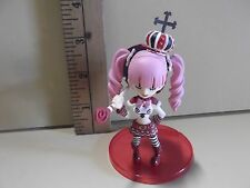 """#A173 One Peice Anime 3""""in Colorful & Cute Pink Twin Tail Hair Holding Umbrella"""