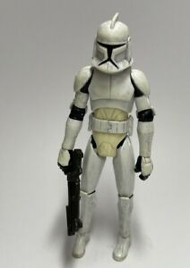 HASBRO Star Wars CLONE TROOPER DIRTY (Clone Wars) LOOSE 2008