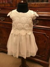 Ivory Lace Baby Girls' Special Occasion Party Dress - 3-6 Months