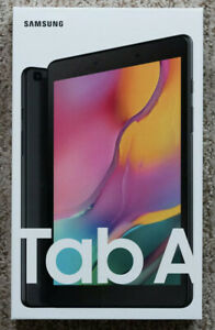 "Samsung Galaxy Tab A 8.0"" 32 GB Wi-Fi Android Tablet - Black New Sealed"