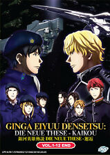 The Legend of the Galactic Heroes: New Thesis Encounter DVD 1-12 ENG DUB Aniime