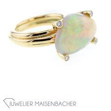 Handgefertigter Edel-Opal-Ring, Ringgröße 52