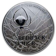 2020 1 oz Australian Redback Spider .999 Silver Coin (BU) in capsule