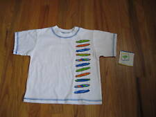 Mulberribush  Colorful Surfboards Surfer Dude Tee - Boy's Size 2T  - NWT