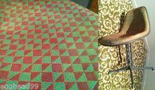 EAMES LA FONDA CHAIR Alexander Girard green diamond bow tie fabric Herman Miller