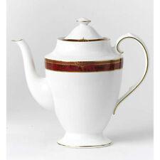 Spode Bordeaux Coffee Pot Fine Bone China Made in England Rare New
