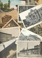 098 Lotto di 20 cartoline della città di ROMA - Viaggiate e non