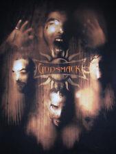 GODSMACK MASSACHUSETTS METAL ROCK BAND TOUR SHIRT FACE