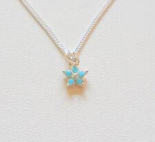 """Ankle Bracelet - 9"""" Sterling Silver Swarovski Crystal Flower"""
