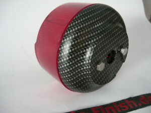 Simson Rücklicht /simson tuning,simson Carbon matt 50% dunkler