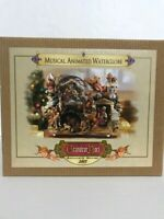 Grandeur Noel Musical Animated Waterglobe Collector's Edition 2003 Christmas