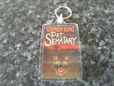 Pet Sematary Keyring.Stephen King. Horror Author. Book Art. Cemetery