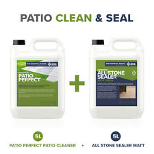 CLEAN & SEAL: DIY Patio Bundle (Mid-sized) For cleaning & sealing dirty patios
